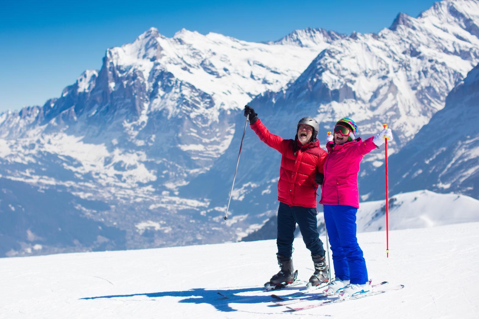 wintersport im alter